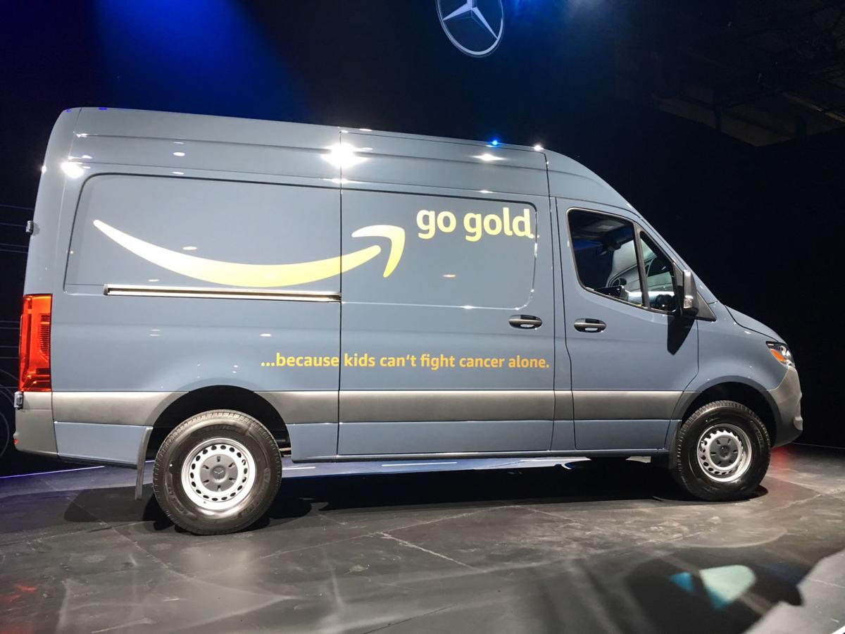 71f77e1f676e Amazon to buy thousands of Mercedes-Benz vans made in North Charleston