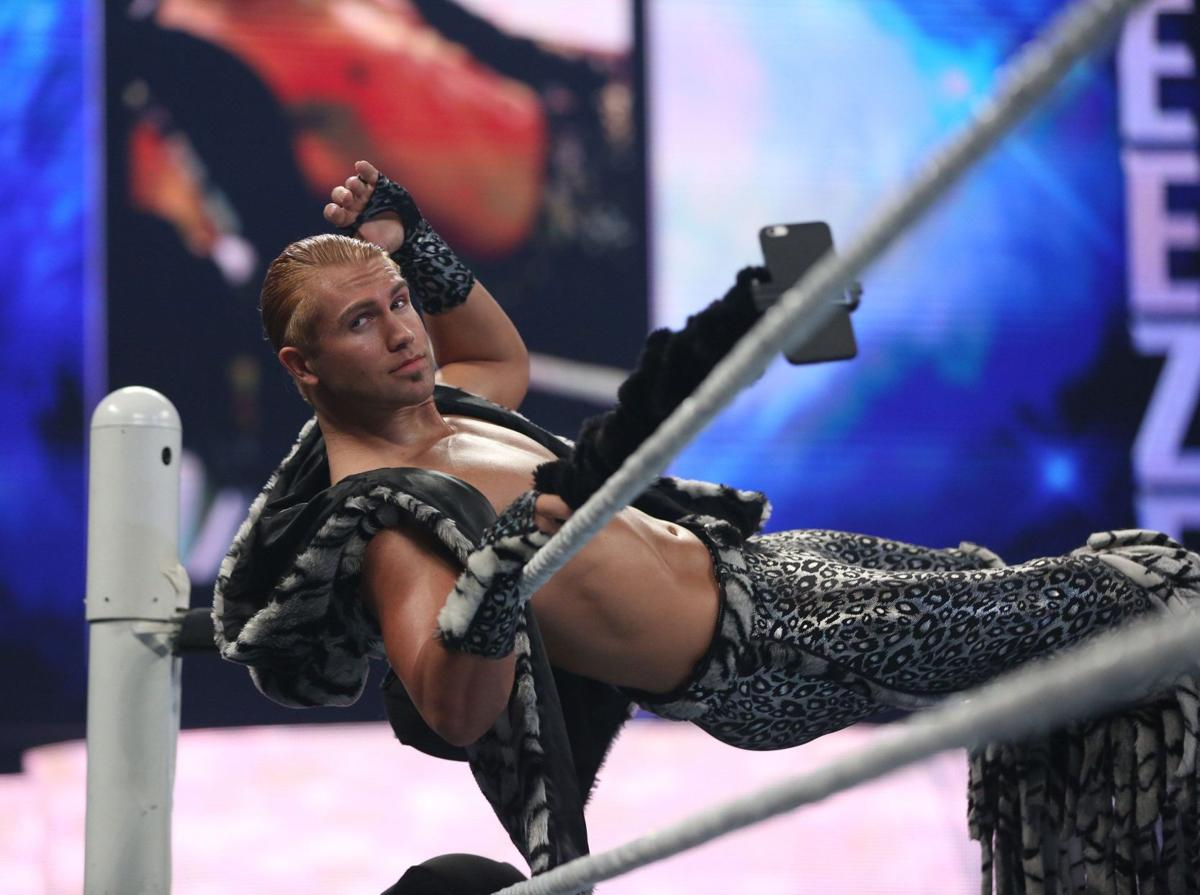 WWE's Tyler Breeze more than just a pretty face