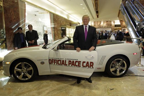 Trump pulls out of race! — at Indy