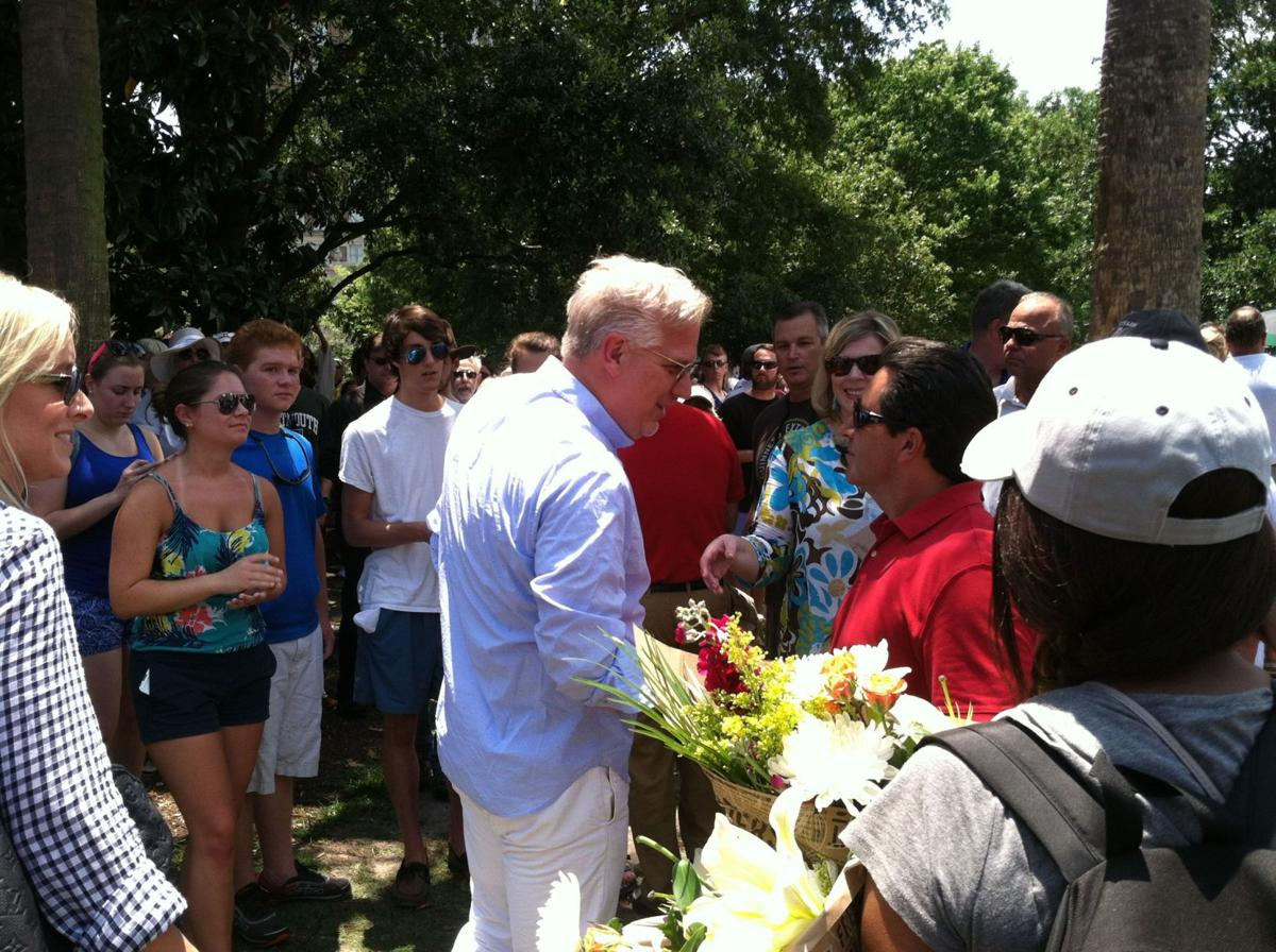 Conservative icon Glenn Beck draws followers to Emanuel AME