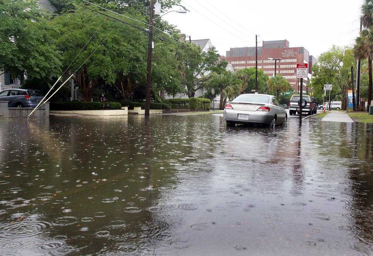 More rain, flooding expected in Charleston area