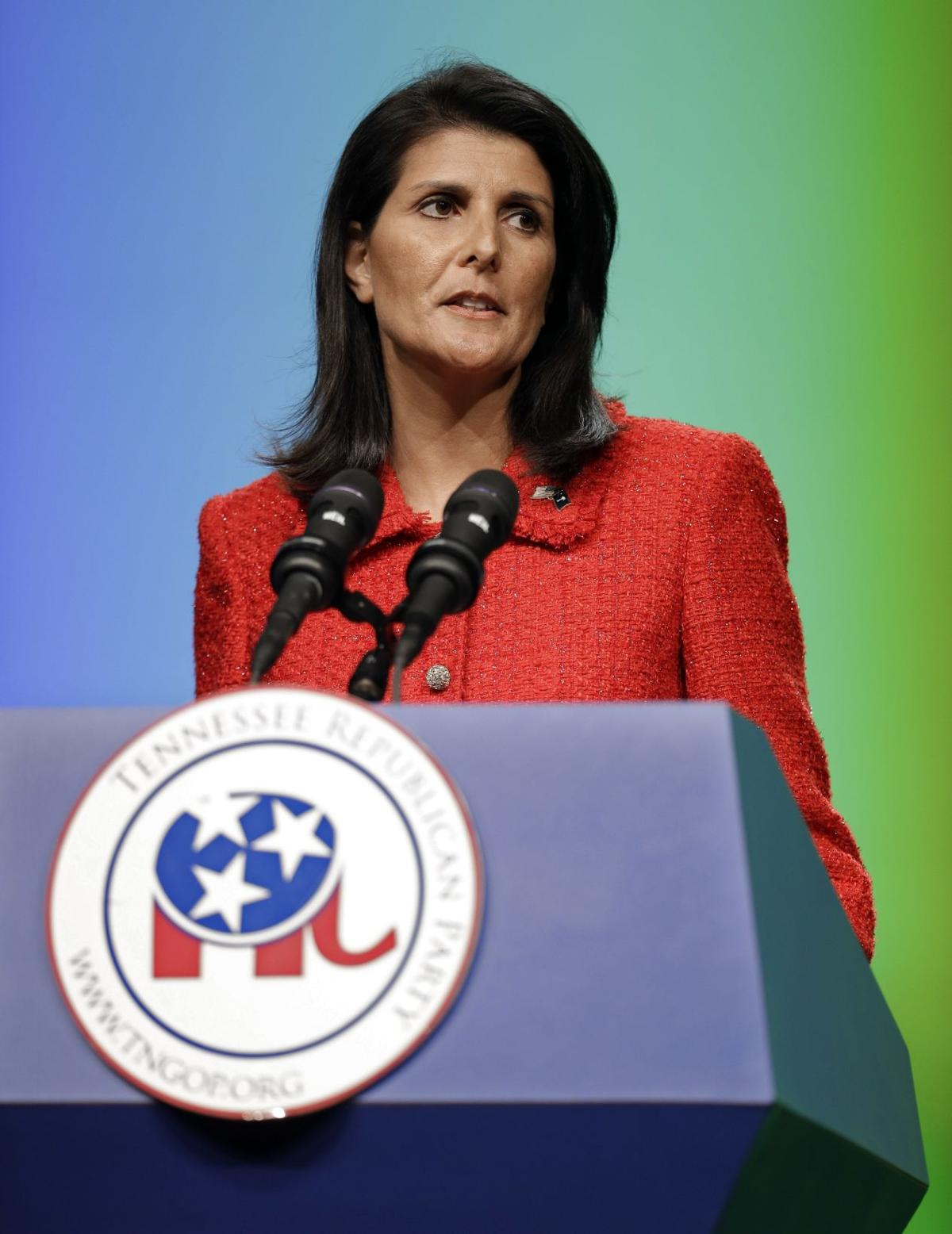 Gov. Haley campaigns, raises funds for governor candidate in Missouri