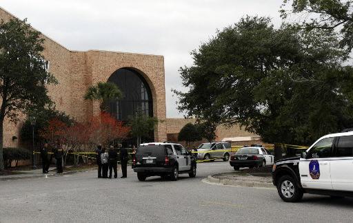 Deadly gunfire at mall