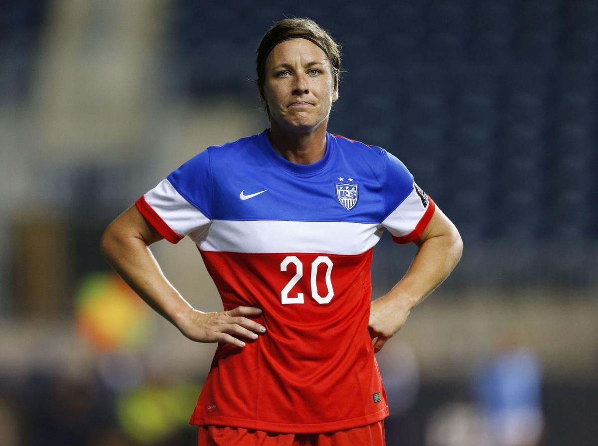 Wambach says she just wants to win