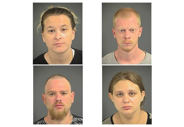 Charleston police arrest 4 after drugs found at West Ashley home where toddler found living in squalor