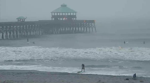 Morning drizzle could turn to rain today in Charleston