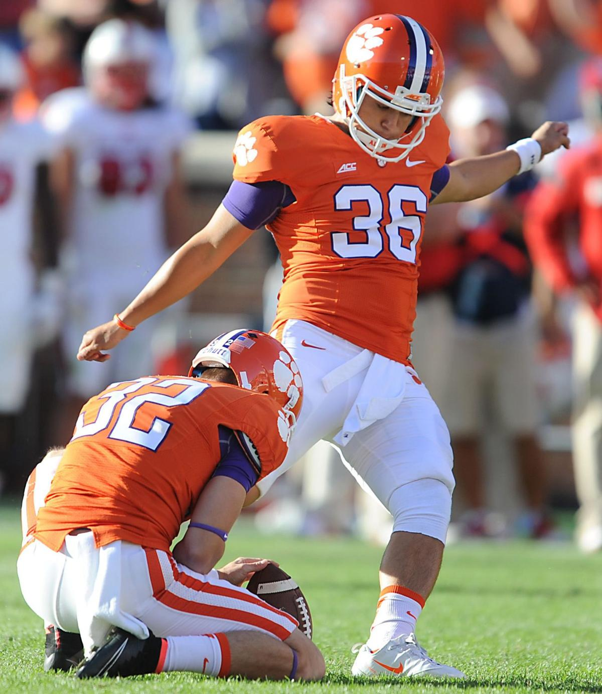 """Swinney: Clemson kicker will """"miss some time"""" after summer drug charge"""