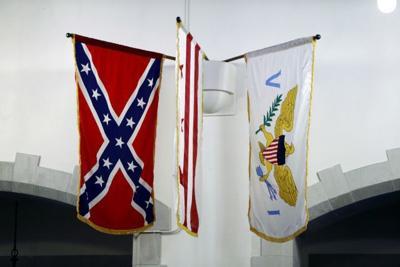 Many Citadel alumni urge flag's removal Confederate Naval Jack still flies in chapel