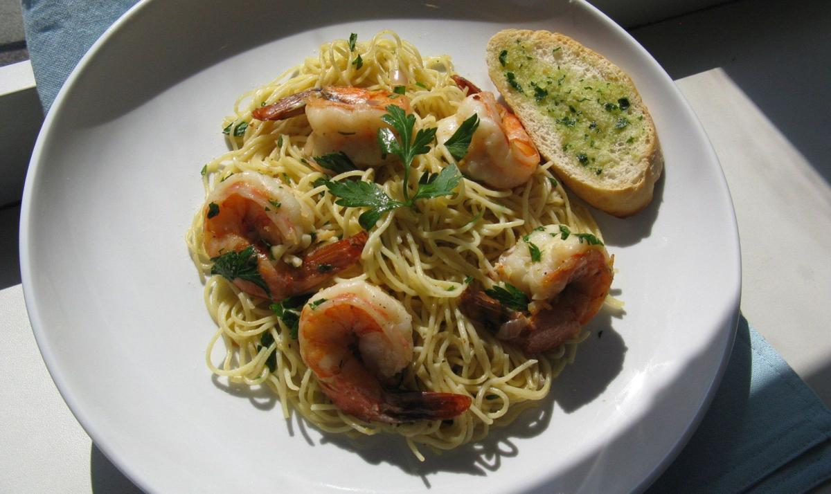 Quick-fix shrimp high on protein, lean on fat