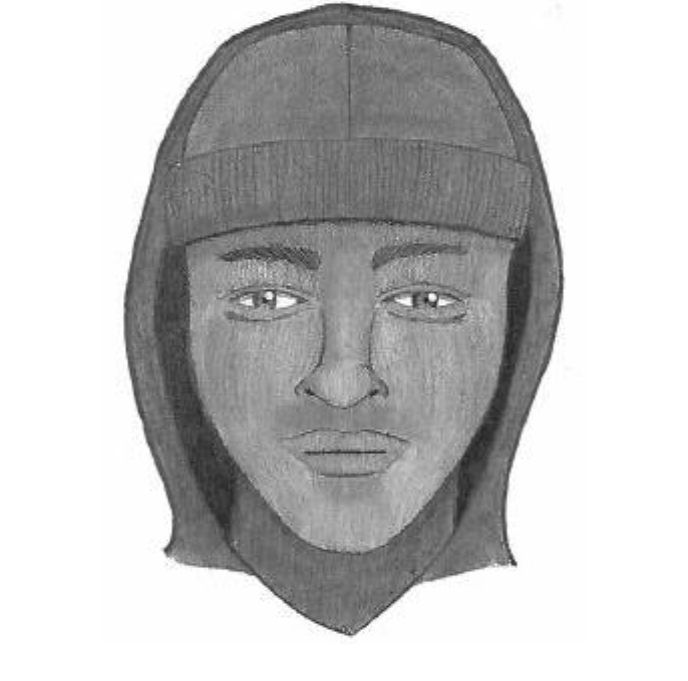 Charleston police release sketch of armed robbery suspect