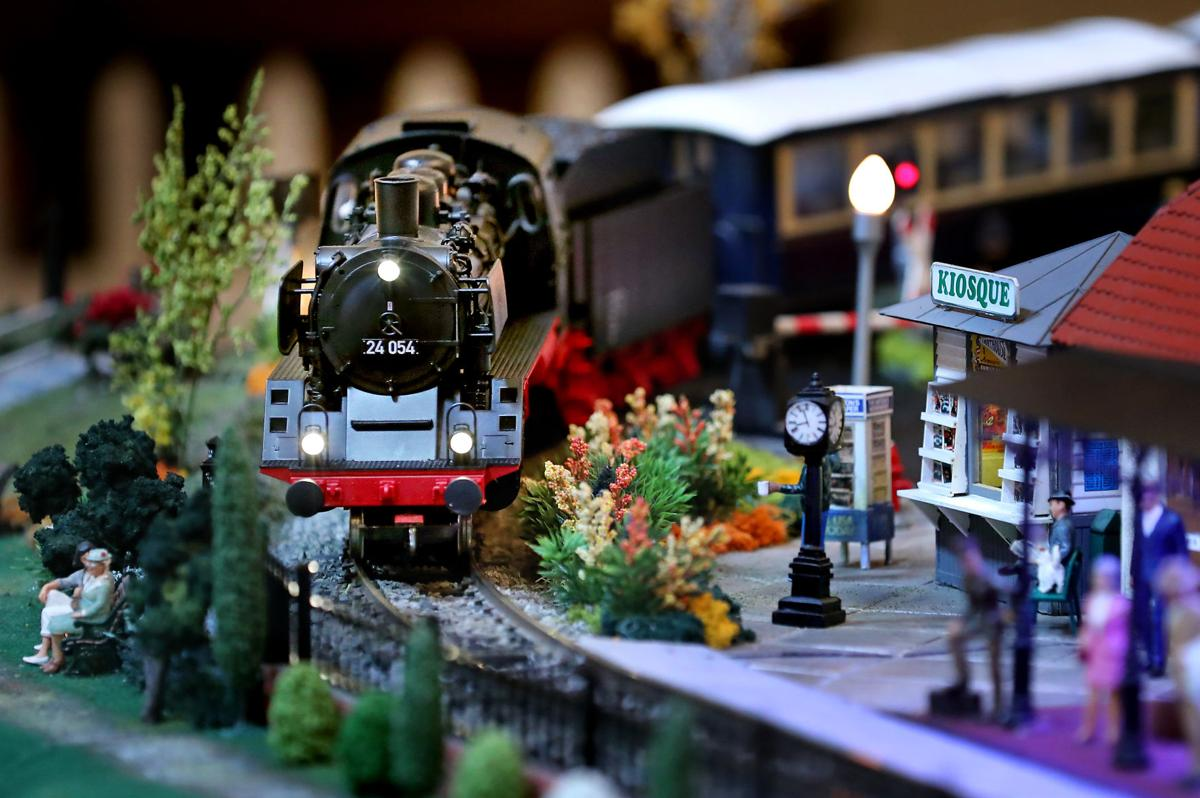 """Photos: Charleston Place train display full of tiny surprises"" PostAndCourier.com"