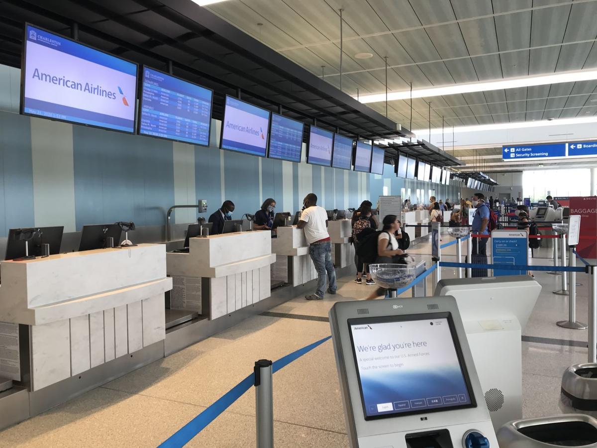 Charleston airport ticket counters