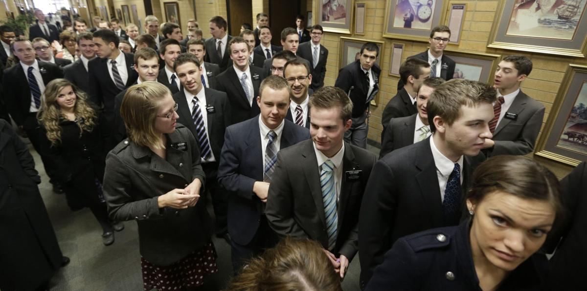 More missionaries, slight rise in Mormon converts