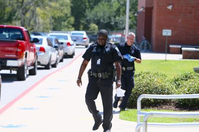 Police at North Charleston High School