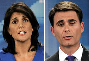 Bauer wants Haley to take lie-detector test