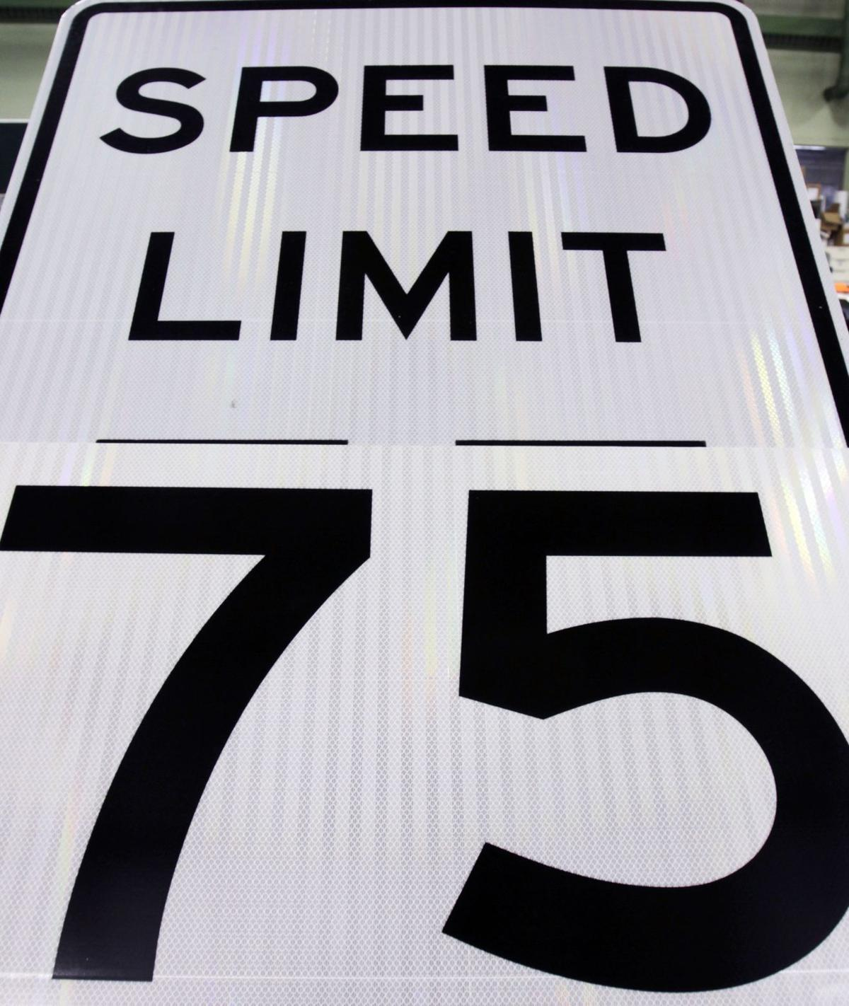 N.C. speed limit hike in slow lane