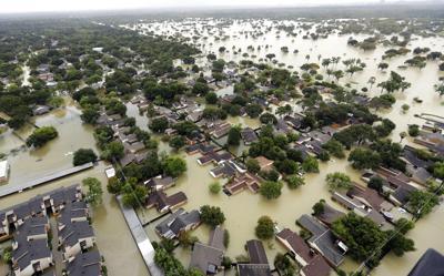 Harvey Flood Control