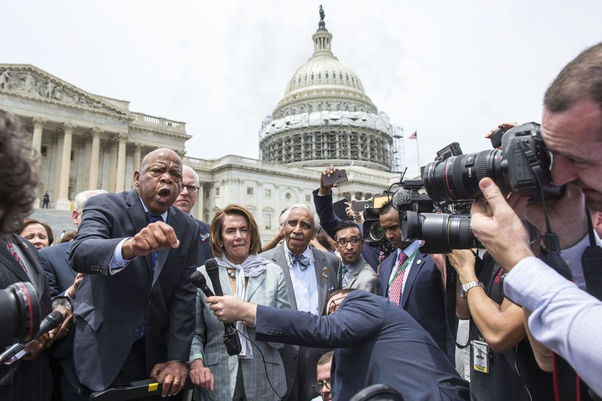 GOP obstruction justified sit-in on guns