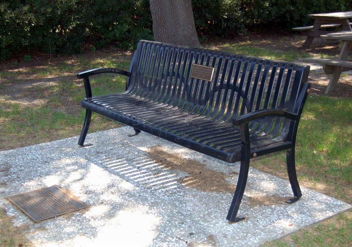 Bench a place to rest and contemplate the African American experience