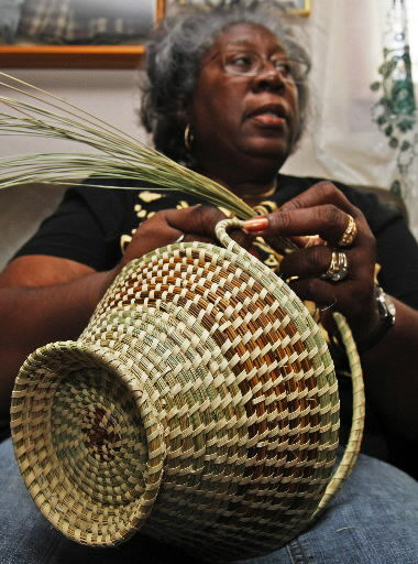 Basket makers face competition from knockoffs