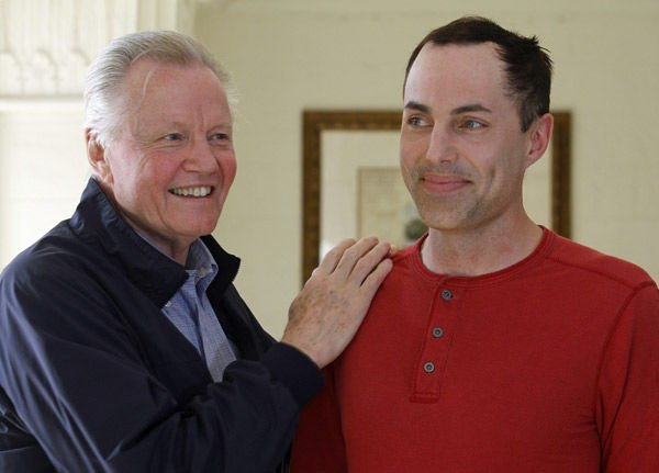 Jon Voight supports son to promote film