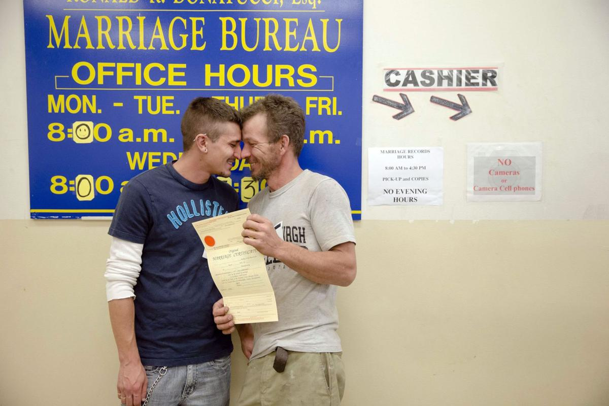 Shifting views on gay marriage now favor Democrats