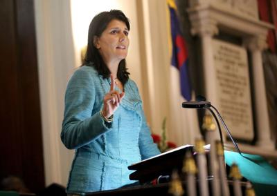 Haley calls for death penalty in church shooting