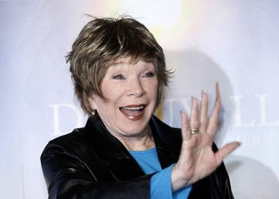 Stars align for Shirley MacLaine
