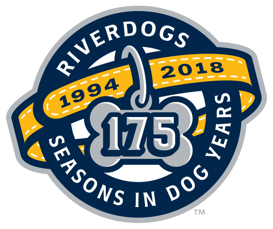 2018 RiverDogs logo