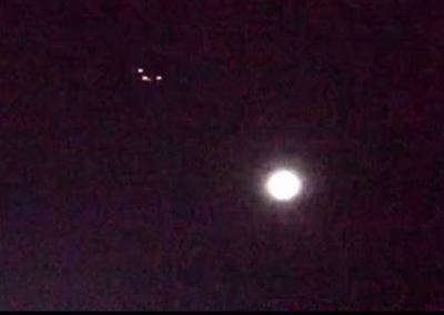 Mount P. man sights strange aircraft flying over Charleston