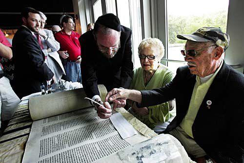 Saving A Torah