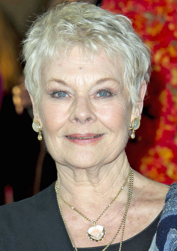 PEOPLE: Actress Judi Dench says she's battling blindness