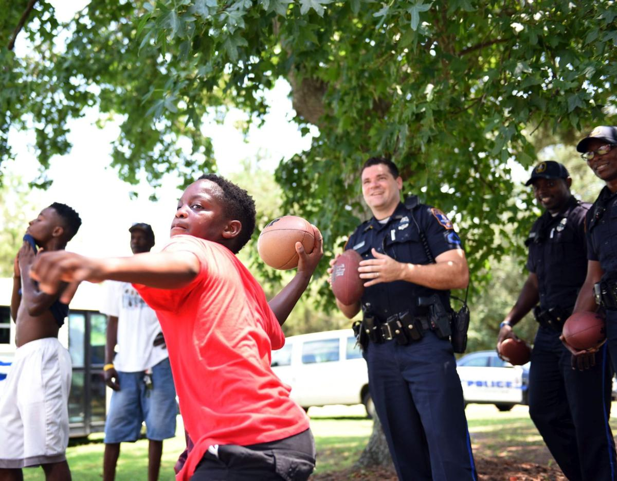 Charleston Police event aims to break down barriers