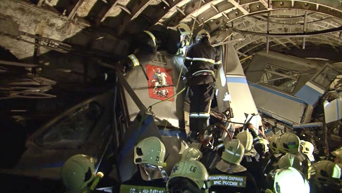 Rush-hour Moscow subway derails: 20 dead, 150 hurt