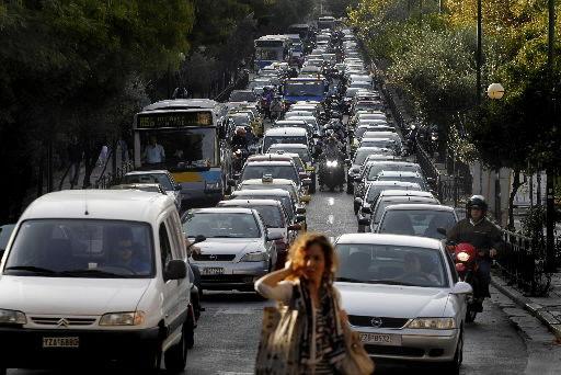 Greece faces austerity strike as default looms