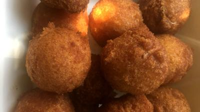 Charleston Crab House hush puppies