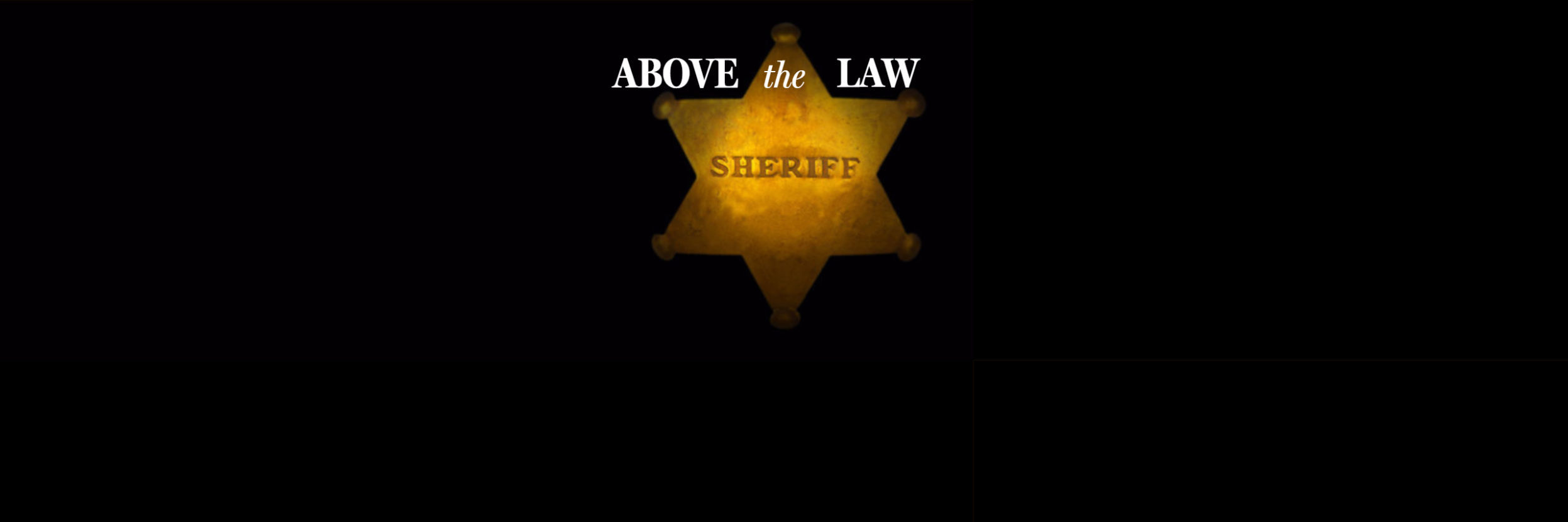 above the law footer