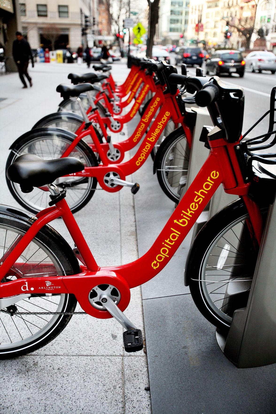 Downtown bike-share program in the works
