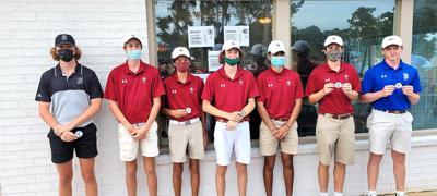 Region golfers