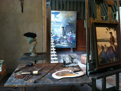 Wyeth family art can be seen in various sites, exhibits