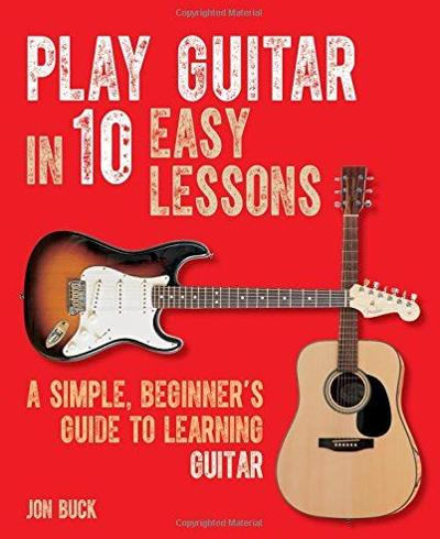 Play Guitar in 10 Easy Lessons book cover