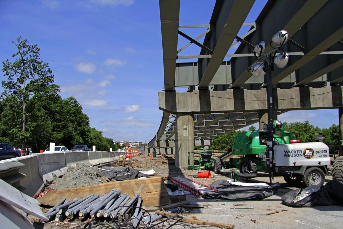 U.S. 17 to close five nights to place four beams for Mount P. overpass