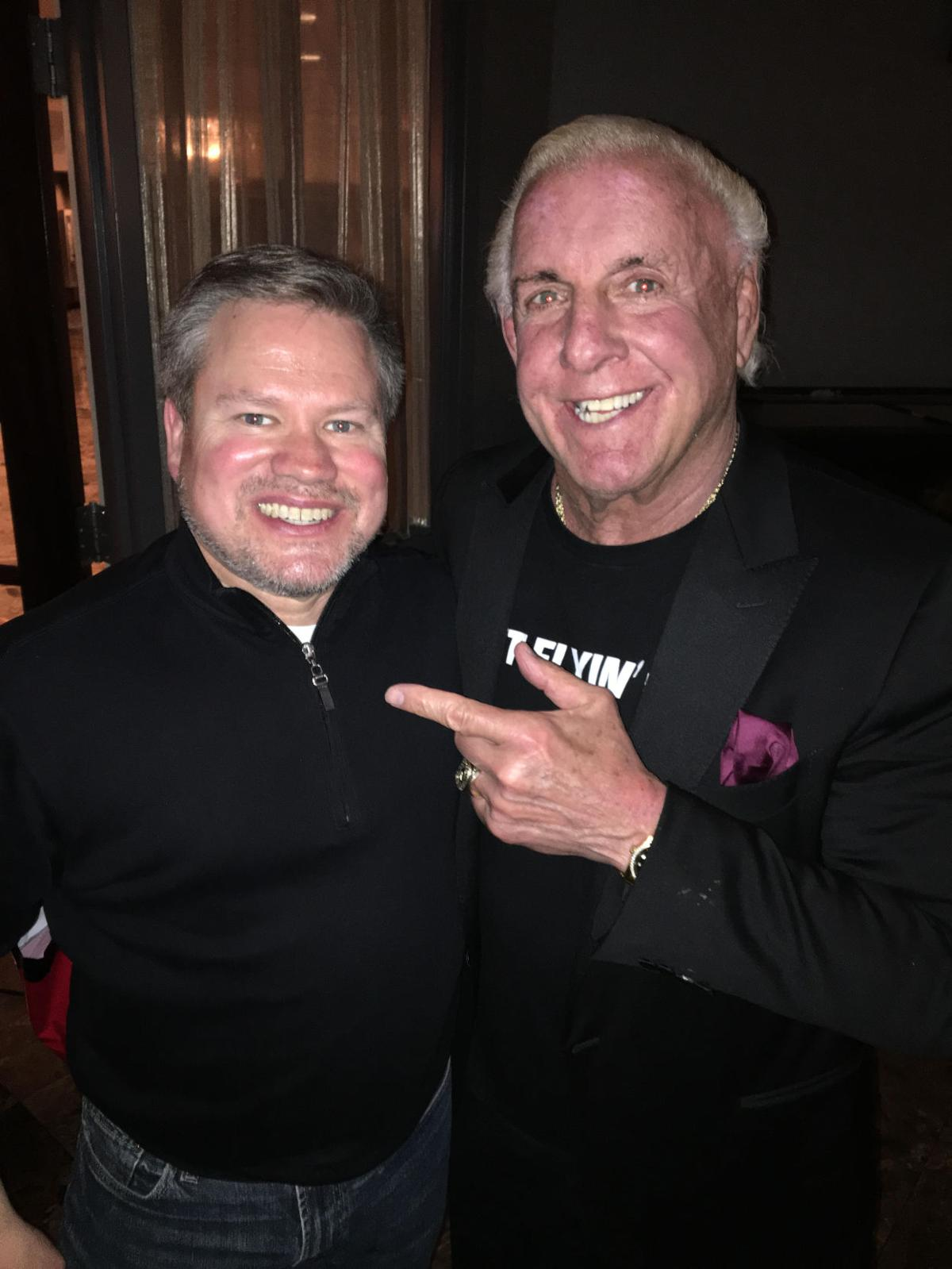 Mike Campbell and Ric Flair