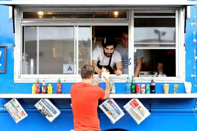 Chefs injured while food trucking