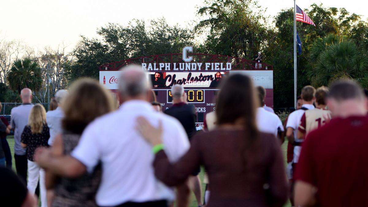 Ralph Lundy field College of Charleston