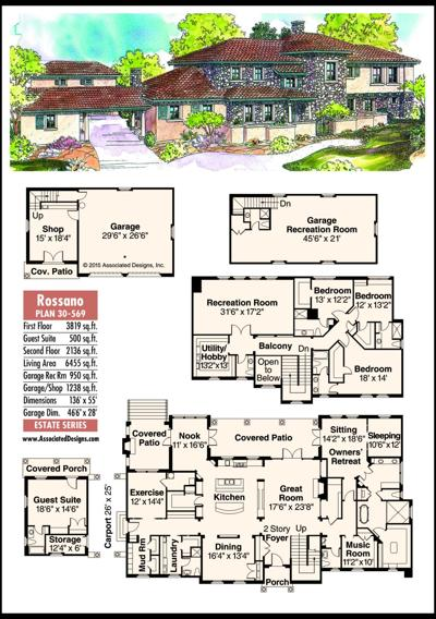This week's house plan Rossano 30-569