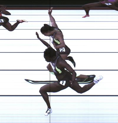 Tarmoh gives up Olympic spot in 100 meters to Felix