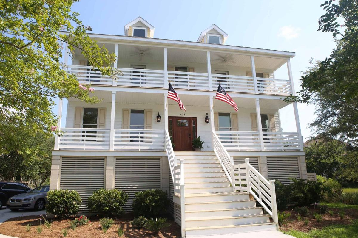 Home, James Families, professionals find agreeable neighborhoods and well-valued dwellings between Wappoo Creek and Folly Beach