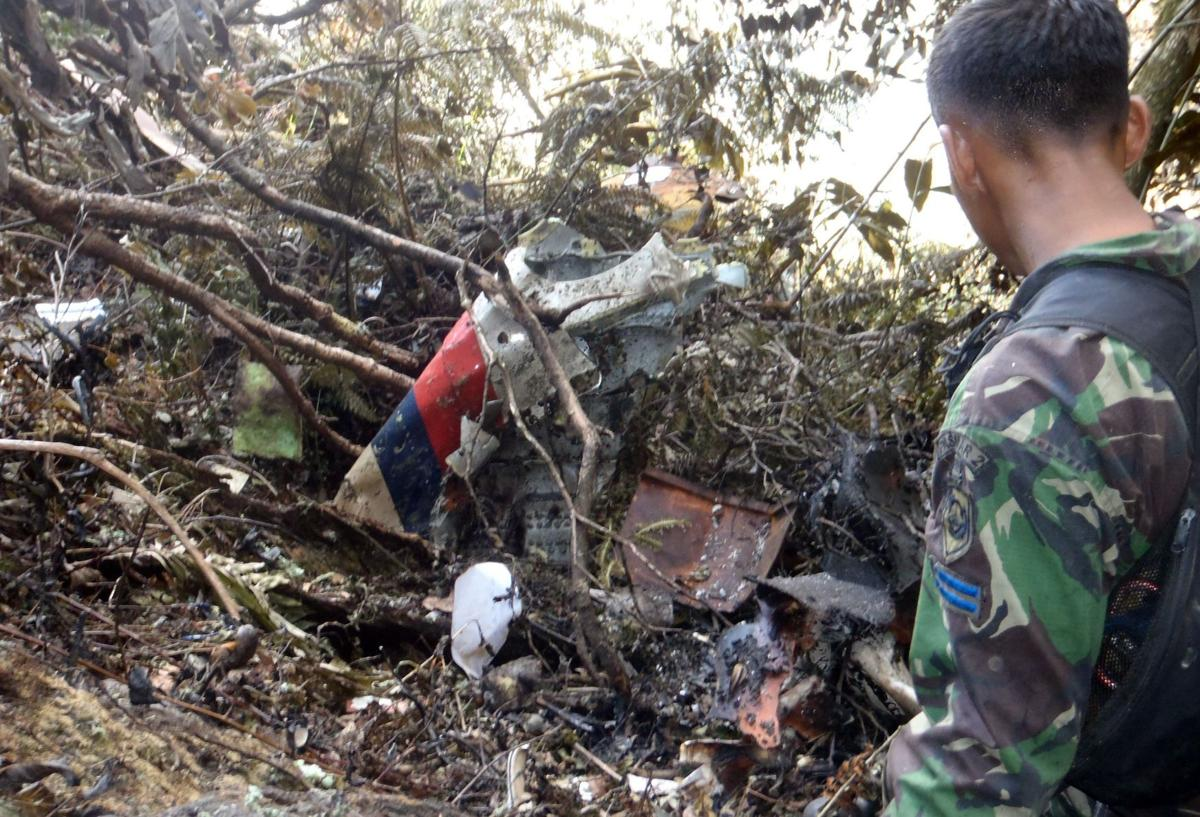 'Black box' from crashed Russian jet in Indonesia is located