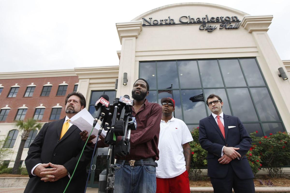 Man suing North Charleston police, Slager for Taser incident urges others to speak out